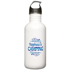 Happiness is Camping Water Bottle