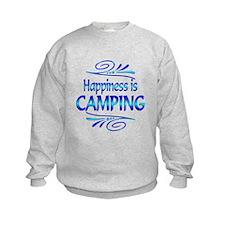 Happiness is Camping Sweatshirt