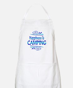 Happiness is Camping Apron