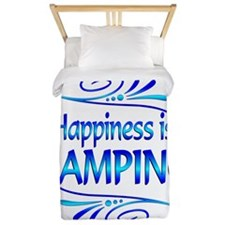 Happiness is Camping Twin Duvet