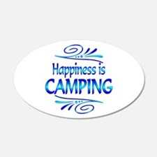 Happiness is Camping Wall Decal