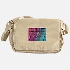 Chiari Syringo Awareness Messenger Bag