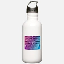 Chiari Syringo Awareness Water Bottle