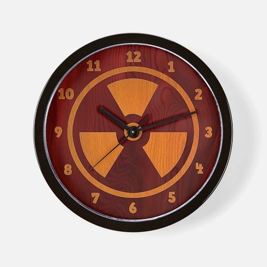 Rad Wood Wall Clock