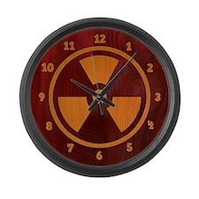 Rad Wood Large Wall Clock