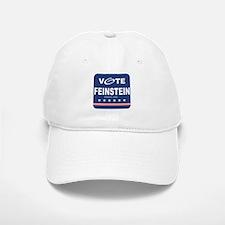 Vote Dianne Feinstein Baseball Baseball Cap