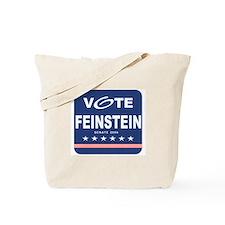 Vote Dianne Feinstein Tote Bag