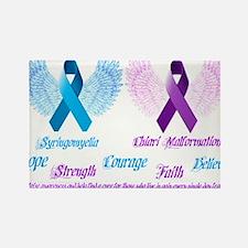 Chiari/Syringomyelia Awareness Rectangle Magnet