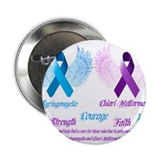 "Chiari/Syringomyelia Awareness 2.25"" Button"