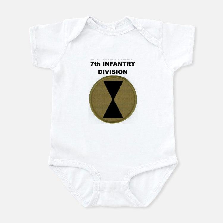 7TH INFANTRY DIVISION Infant Bodysuit