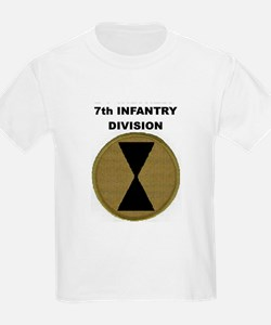 7TH INFANTRY DIVISION Kids T-Shirt