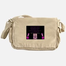 Chiari/Syringomyelia Awareness Messenger Bag