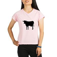 Black cow Performance Dry T-Shirt