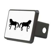 Dressage horses Hitch Cover