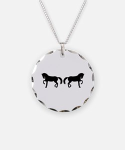 Dressage horses Necklace