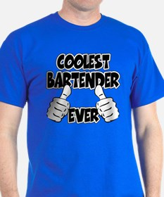 Coolest Bartender Ever T-Shirt