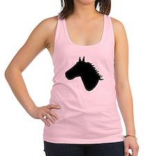 Horse head Racerback Tank Top