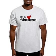 HalfHeartafgan T-Shirt