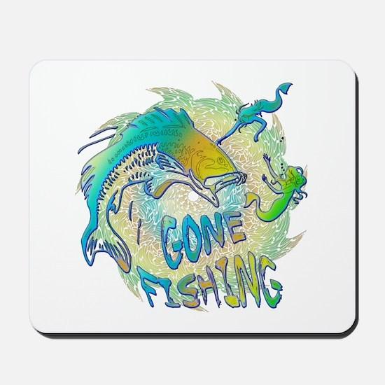 Gone Fishing 3 Mousepad