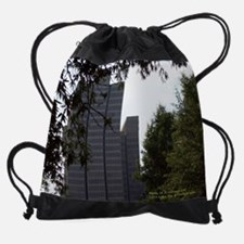 View of Atlanta From Sheraton Drawstring Bag