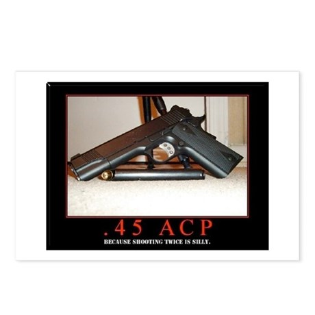 .45 ACP Postcards (Package of 8)