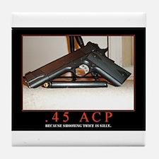 .45 ACP Tile Coaster
