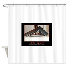 .45 ACP Shower Curtain