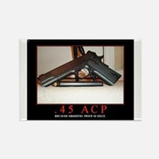 .45 ACP Rectangle Magnet