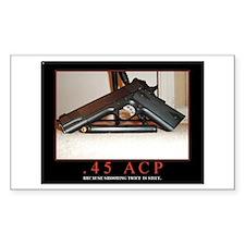 .45 ACP Decal