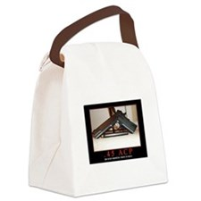 .45 ACP Canvas Lunch Bag