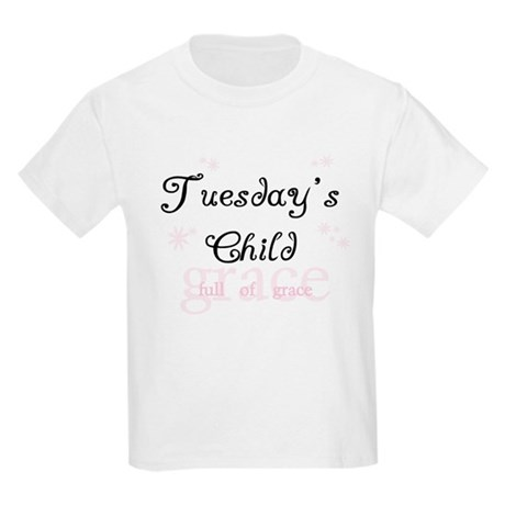 Tuesday's Child Kids T-Shirt