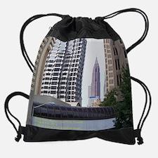 Downtown Atlanta View At Dragon Con Drawstring Bag