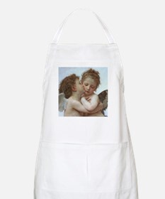 Baby Angels Kiss Bouguereau Painting BBQ Apron
