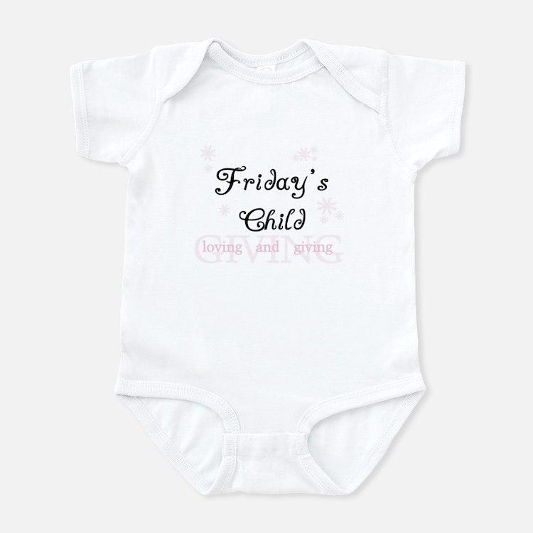 Friday's Child Infant Bodysuit