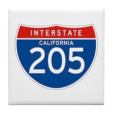 Interstate 205 - CA Tile Coaster