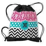Personalized name Drawstring Bag