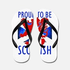 Proud to be SCOTTISH Flip Flops