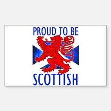 Proud to be SCOTTISH Decal