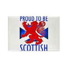 Proud to be SCOTTISH Rectangle Magnet