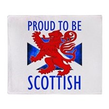 Proud to be SCOTTISH Throw Blanket