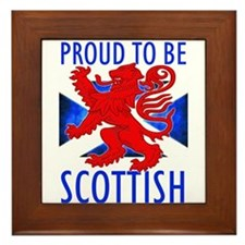 Proud to be SCOTTISH Framed Tile