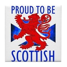Proud to be SCOTTISH Tile Coaster