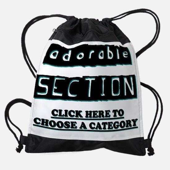 4u2wear2 Adorable Section.png Drawstring Bag