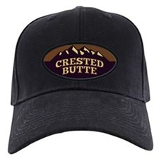 Crested Butte Sepia Baseball Hat