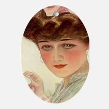 Victorian Lady Teacup Harrison Fisher Girl Ornamen