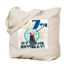 7th Magic Birthday Tote Bag