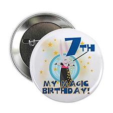 "7th Magic Birthday 2.25"" Button (10 pack)"