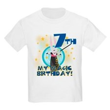 7th Magic Birthday Kids T-Shirt