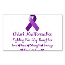 fighting for my daughter Decal