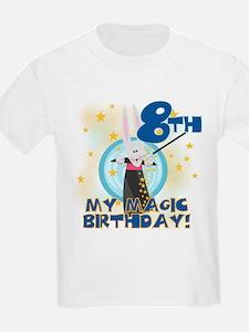 8th Magic Birthday Kids T-Shirt